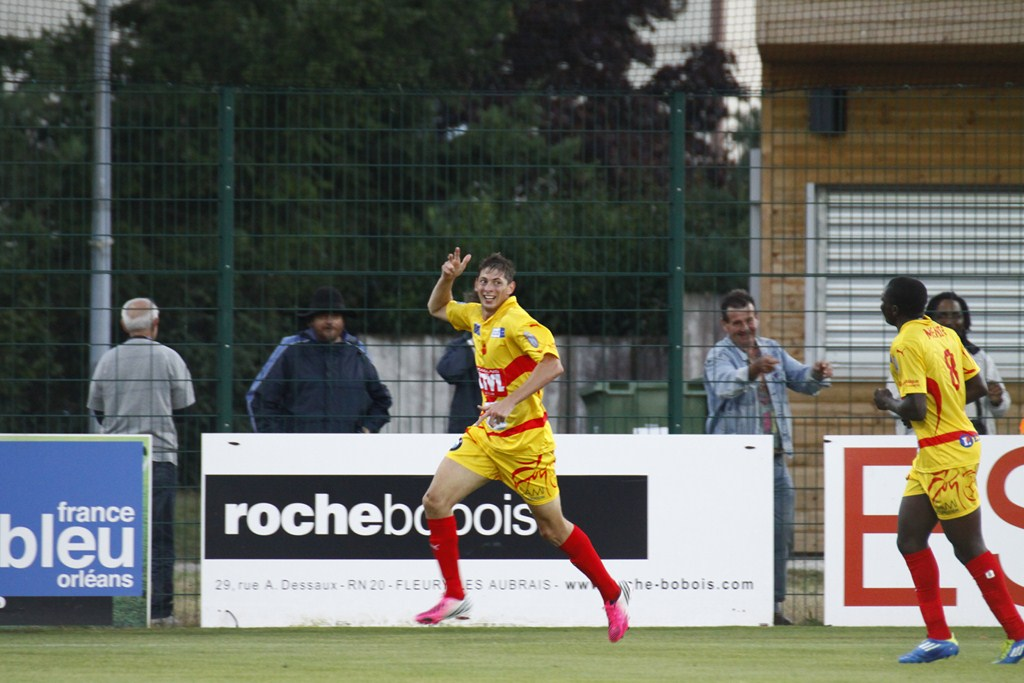 Cfa Girondins : Interview d'Emiliano Sala buteur face au Red Star ! - Formation Girondins