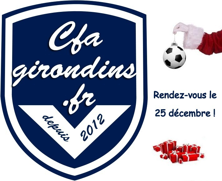 Cfa Girondins : Une surprise pour Noël ! - Formation Girondins