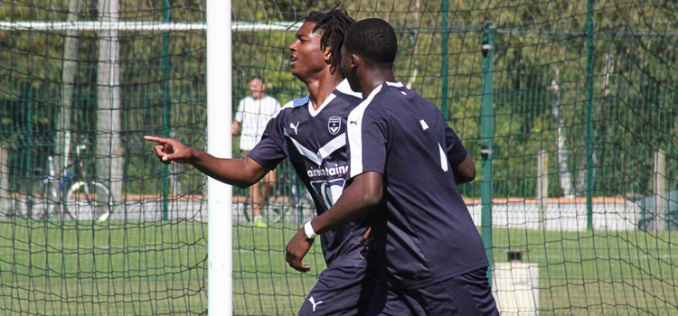 Cfa Girondins : Gambardella - Qualification difficile à Torcy - Formation Girondins