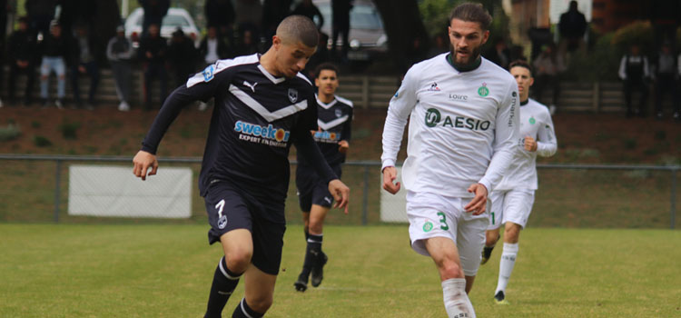 Cfa Girondins : N2 - Pas de but, mais des regrets contre St Etienne - Formation Girondins
