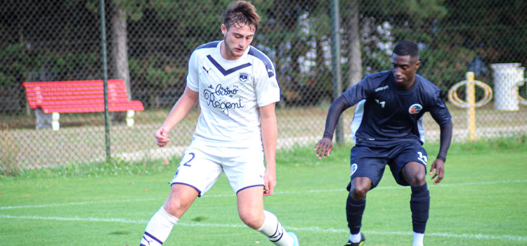 Cfa Girondins : N3 : Bordeaux s'incline encore en amical, à Arcachon - Formation Girondins